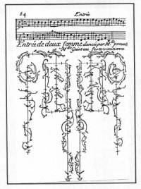 Baroque Dance and dancing notation